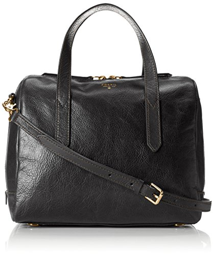 Fossil Sydney Satchel, Black, One Size by Fossil