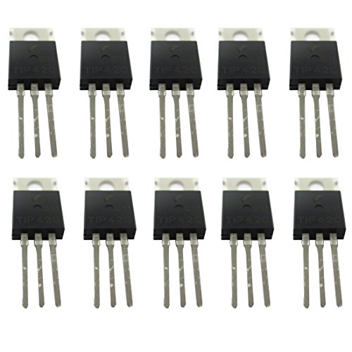 TIP42C TIP42 PNP Complementary Power Transistor TO-220 10 Pack - Pnp Switching Transistor