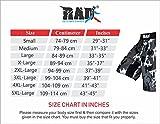 RAD MMA Fight Shorts Grappling Short Kick Boxing