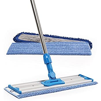 Amazon Com 18 Quot Professional Microfiber Mop Stainless