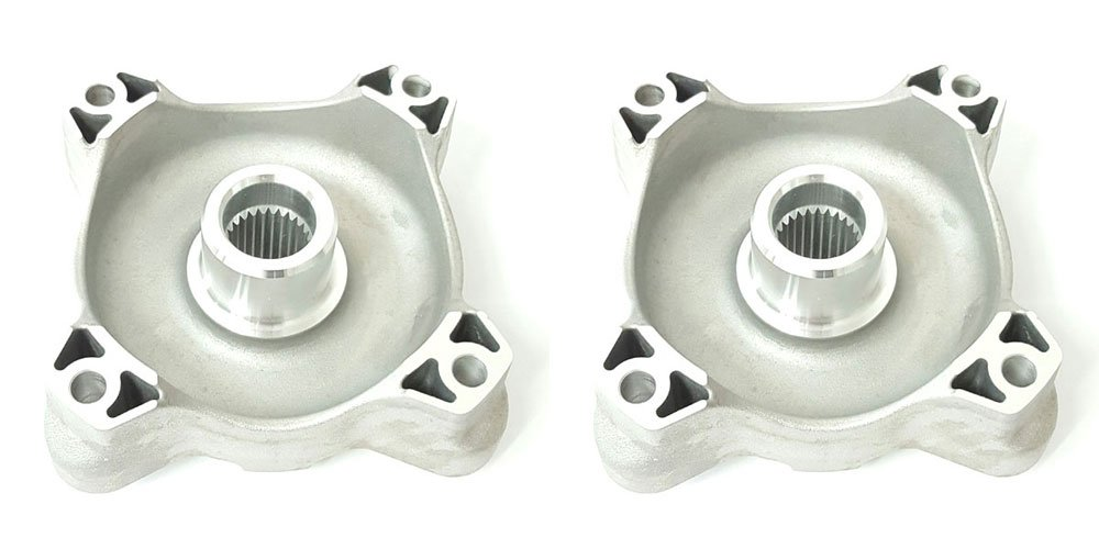 Volar Front Left and Right Wheel Hub for 2010-2014 Polaris RZR S 800
