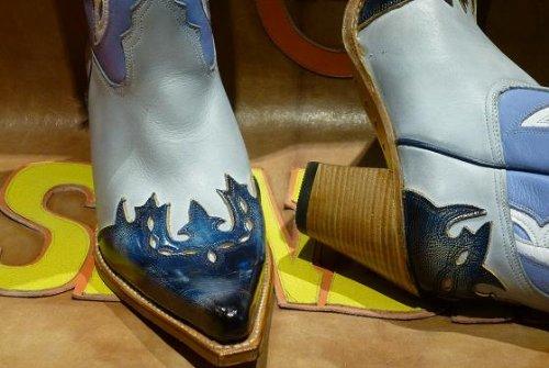 Sendra Boots 6679 multicolor blau