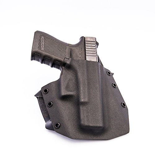 Ronin OWB Holster for Glock 19/23/32, Black, Right Hand (Glock 19 Too Big For Concealed Carry)