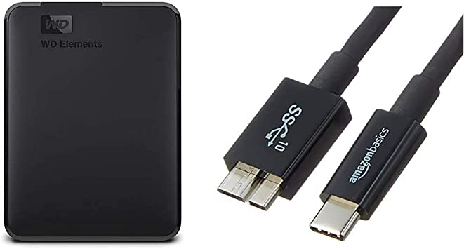 Wd Elements Portable External Hard Drive 2 Tb Usb Computers Accessories