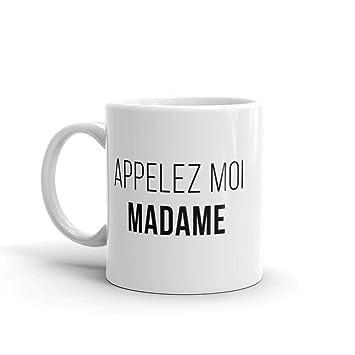 Mug Cadeau Evjf Mariage Appelez Moi Madame Tasse En