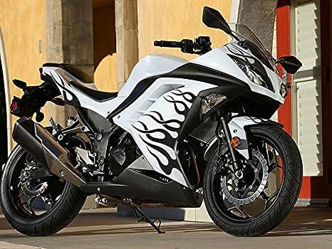 Moto Onfire ABS Injection Mold Bodywork Plastic Fairings Kit For 13 14 15 16 Kawasaki Ninja 300 EX300R ZX300R (2013-2016) Black