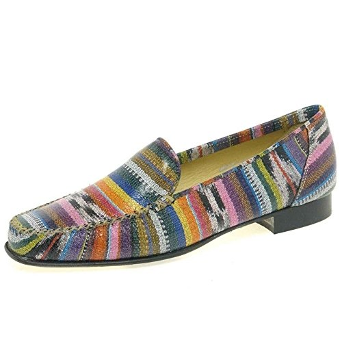 Ladies Colour Charles Eu Multi 40 Mocassins Décontractés Clinkard Jazz qCgCwpEz
