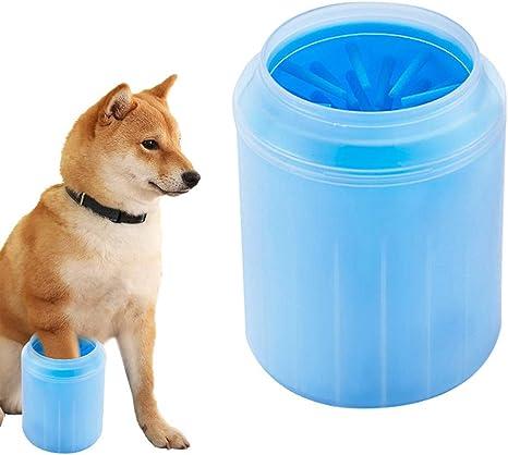DAXINYANG Mascotas Gatos Perros Pie Taza Limpia para Perros Gatos ...