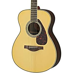 yamaha ls6 are acoustic electric guitar rosewood natural musical instruments. Black Bedroom Furniture Sets. Home Design Ideas