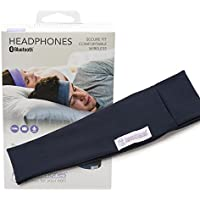 SleepPhones Wireless | Bluetooth Headphones | Ultra Thin Speakers | Lightweight & Comfortable Headband | Best for Insomnia | Includes Micro USB for Recharging | Galaxy Blue (Breeze Fabric) | Large / XL