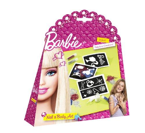 Totum - BJ500051 - Loisir Créatif - Barbie - Set Ongle et Tatouage