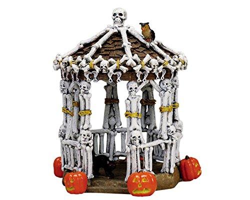 Lemax Spooky Town Village Skeleton Gazebo Table Piece -