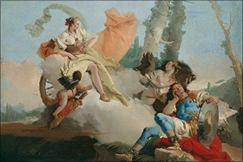 42x63 Poster; Giovanni Battista Tiepolo Rinaldo Enchanted By Armida (Rinaldo Enchanted By Armida Giovanni Battista Tiepolo)