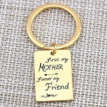 MEIHEK Llavero Primero mi Madre para Siempre mi Amiga para ...