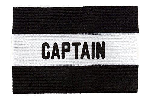 Kwik Goal Adult Captain Arm Band, Black