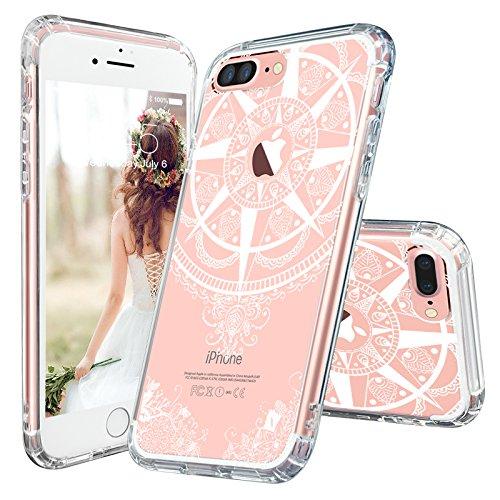 iPhone MOSNOVO Mandala Transparent Flexible