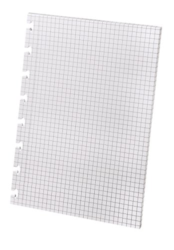 Ampad Versa Graph Paper Refill, 5-1/2'' x 8-1/2'', Graph Rule, White, 40 SH/PK by Ampad