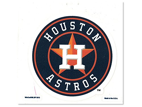 WinCraft MLB Houston Astros Perfect Cut Color Decal, 4