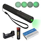 TSONCOLE Tactical Green Hunting Rifle Scope Sight Laser Pen Demo Remote Pen Pointer