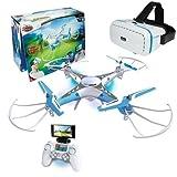 Xtrem raiders-spy Drone avec lunettes 3d
