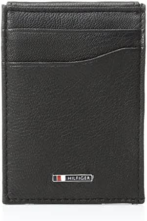 Tommy Hilfiger Men's Lloyd Slim Front Pocket Wallet