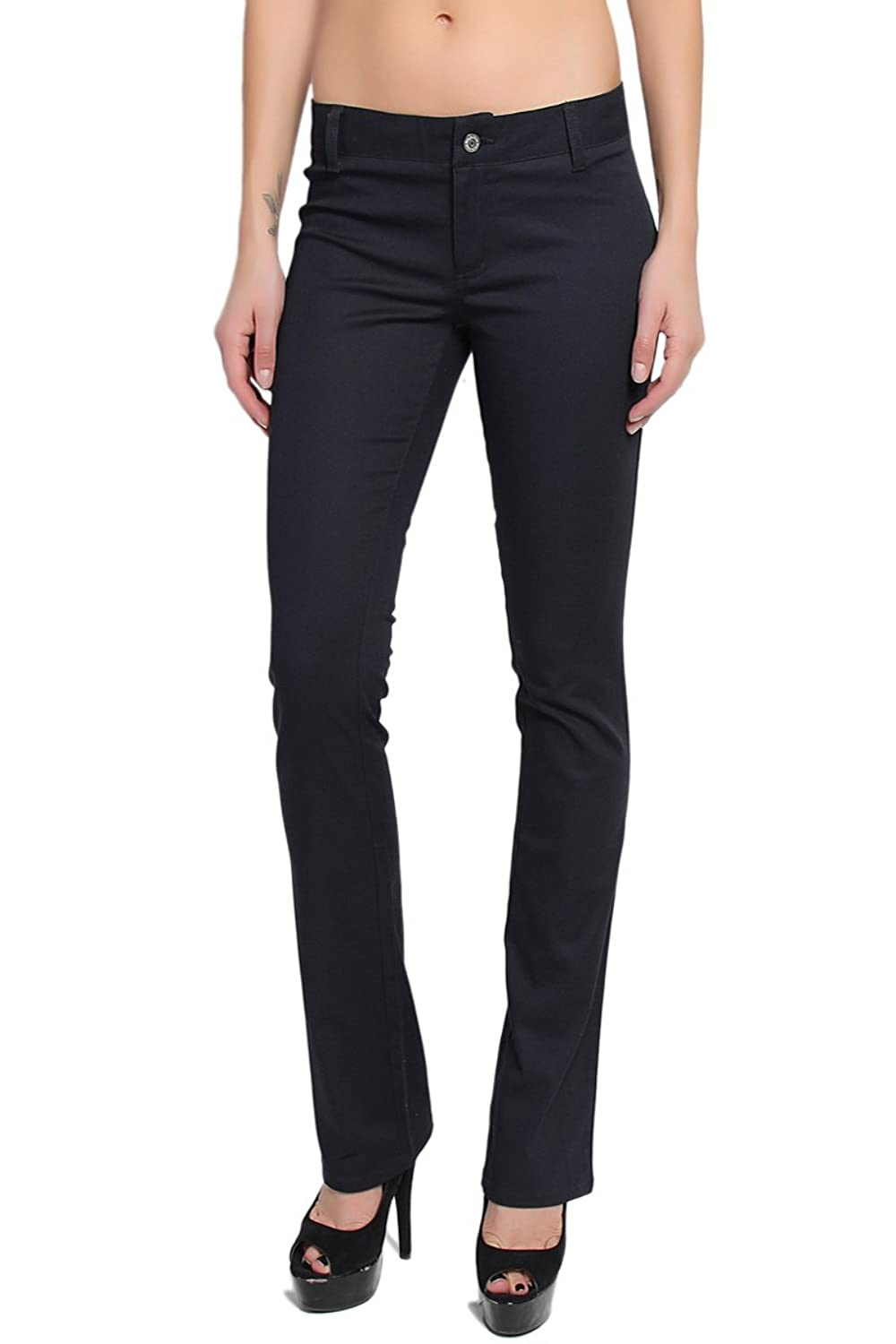 TheMogan Women's Dickies Girl Stretch Twill Simple Pants