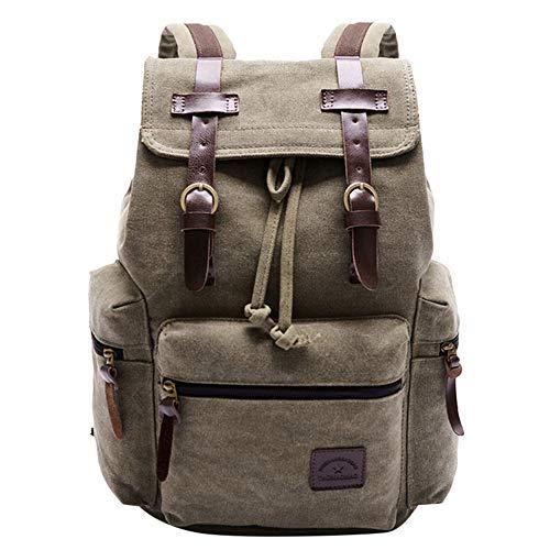 - Todaies Womens Canvas Backpack Shoulder Book School Bag Travel Rucksack Satchel