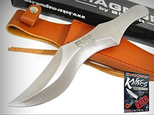 (BOKER MAGNUM 02MB160 Mini Bo-Kri Throwing Knife! MB160 + free eBook by ProTactical'US )