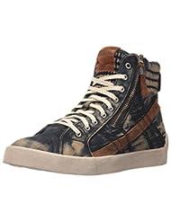 Diesel Men\'s D-Velows D-String Plus M Sneaker, Indigo, 8.5 M...