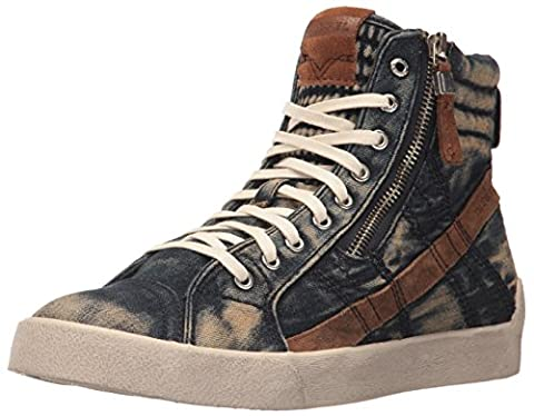 Diesel Men's D-Velows D-String Plus M Sneaker, Indigo, 9.5 M US (Men Diesel Top)