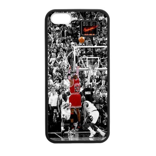 BEST iPhone 5 Case, [Michael Jordan] ipod touch 6 Case Custom Durable Case Cover for ipod touch 6