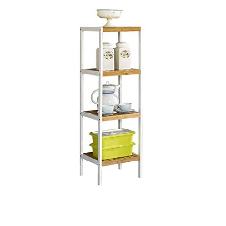 Amazon.com: YC electronics Bookshelf 2, 3,4,5 Tier Bamboo ...