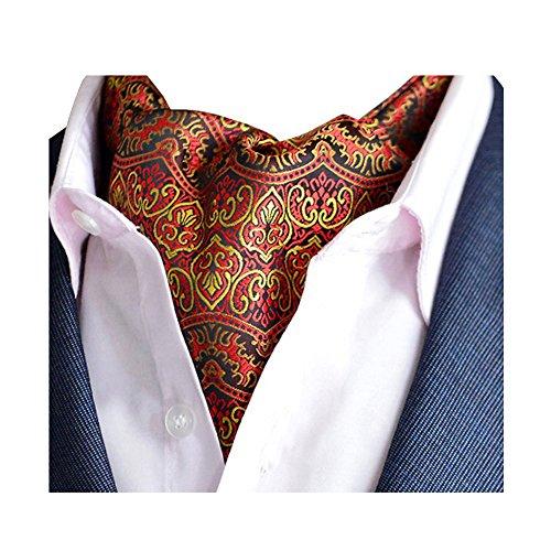 Dot Reversible Men Polka Luxury Paisley Elegent Color for Tie Cravat Classic Necktie Jacquard 20 Scarf YCHENG 4qH07wn