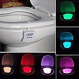 Best Light Motion Activated Toilet Night Light Toilet Nightlight
