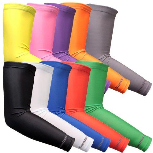 Athletic Arm Sleeves Suddora Sports Arm Sleeve Pair