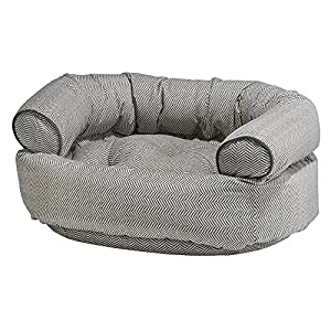 Bowsers Diamond Series Microvelvet Double Donut Dog Bed