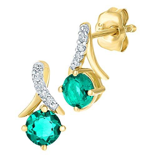 0.4 Ct Diamond Earrings - 4