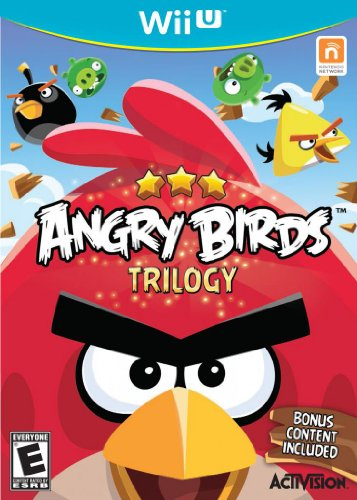 Wii U Angry Birds Trilogy (Best Selling Ds Games)