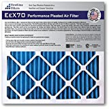 FirstLine Filters MERV 7 Pleated AC Furnance Air Filter, Box of 6
