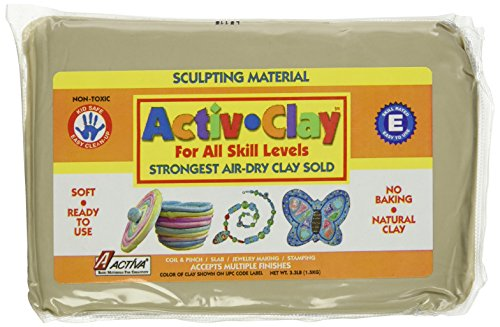 Activ Clay Air (ACTIVA Activ-Clay, air dry, 3.3 pound White)