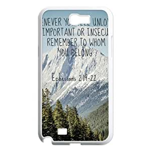 Positive Inspirational Quotes Samsung Galaxy Note 2 Case White Yearinspace956161