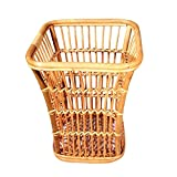 TSAR003 Pure Hand Rattan Laundry Basket Dirty Clothes Toy Debris Collection Towel Box 33 33 40Cm