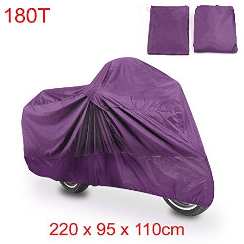 Purple Honda Motorcycles - 3