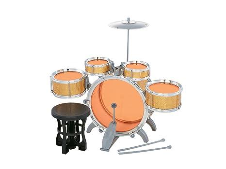 Teorema batteria musicale sei elementi con sgabello e