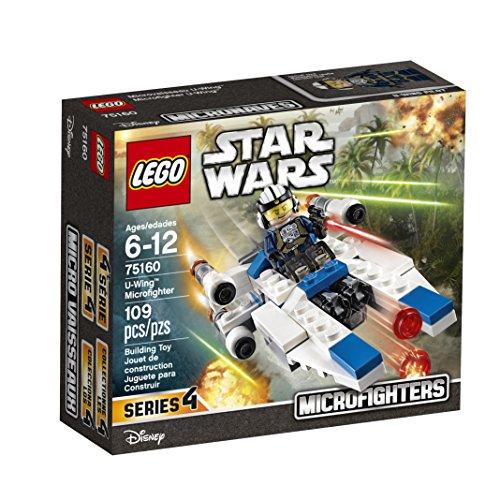 LEGO Star Wars U-Wing Microfighter 75160 Building Kit (Wars Star Sets Micro Lego)