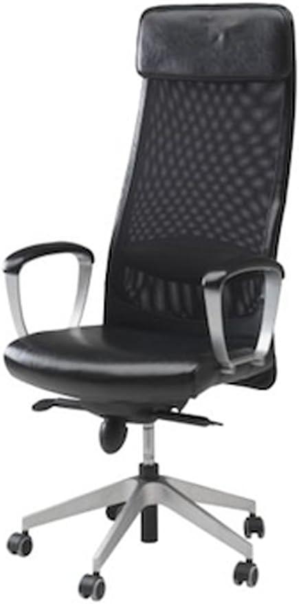 Amazon Com Ikea Markus Leather Executive Office Chair Furniture Decor
