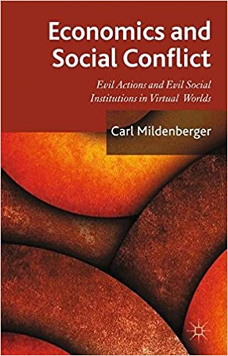 Economics and Social Conflict: Evil Actions and Evil Social Institutions in Virtual Worlds