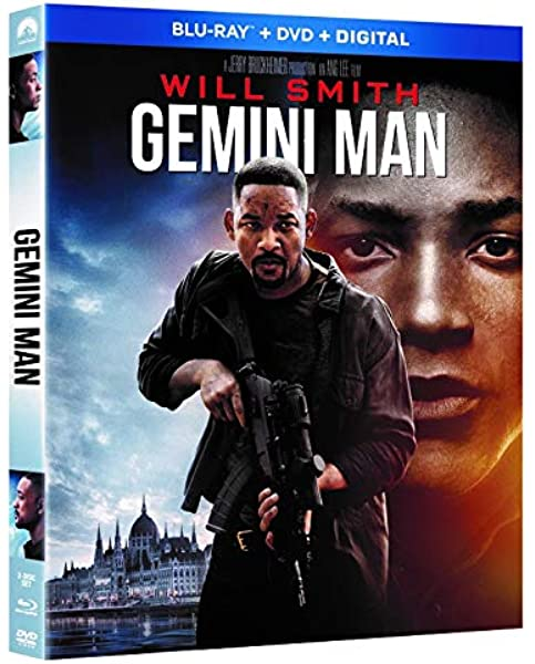 Amazon Com Gemini Man Blu Ray Will Smith Clive Owen Mary Elizabeth Winstead Ang Lee Movies Tv
