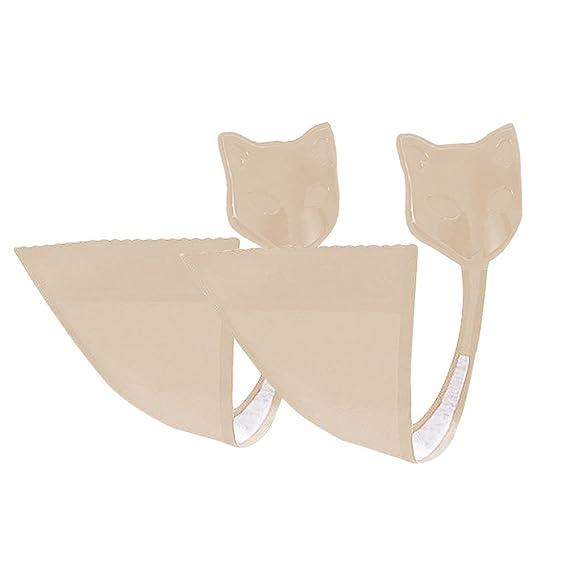 ANGTUO 2 Pack Frauen C String Invisible Unterwäsche Adhesive trägerlosen Panty Keine Spur G-String für Besondere Anlässe