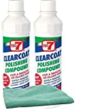 dupont polishing compound - No. 7 Clearcoat Polishing Compound Bundle with Microfiber Cloth (3 Items)